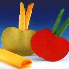 Porte-serviette en forme de Pomme