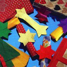 Faire des ronds de serviette en papier pour Noël