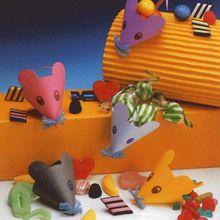 La souris farcie de bonbons