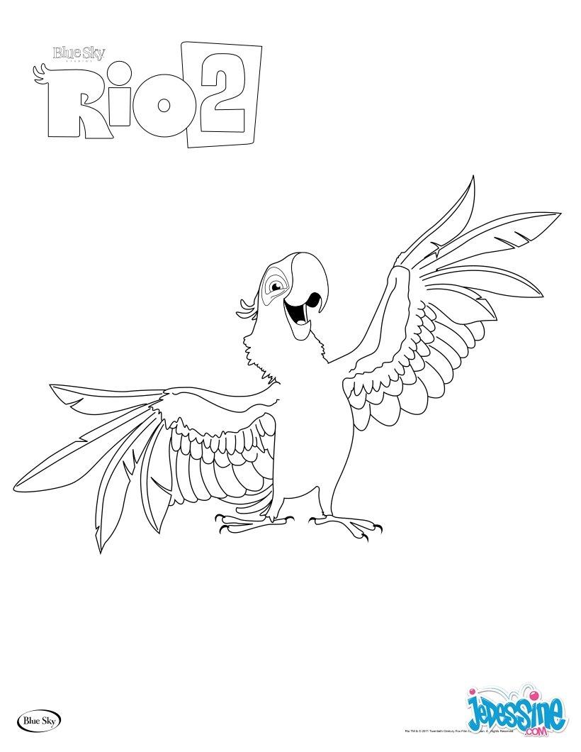 Inspiration Coloriage De Rio 2