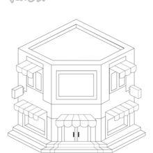 Coloriage : YetiGlaces, le marchand de glaces de Yodicity