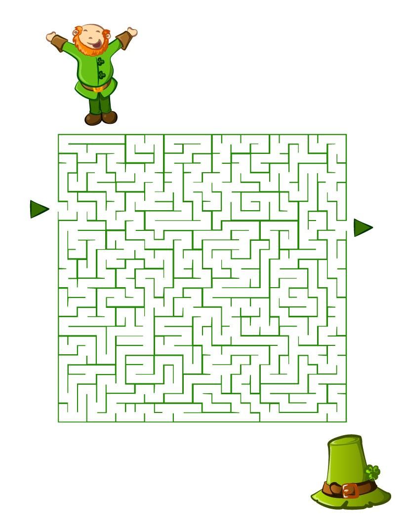 Labyrinthe : Le chapeau du Leprechaun