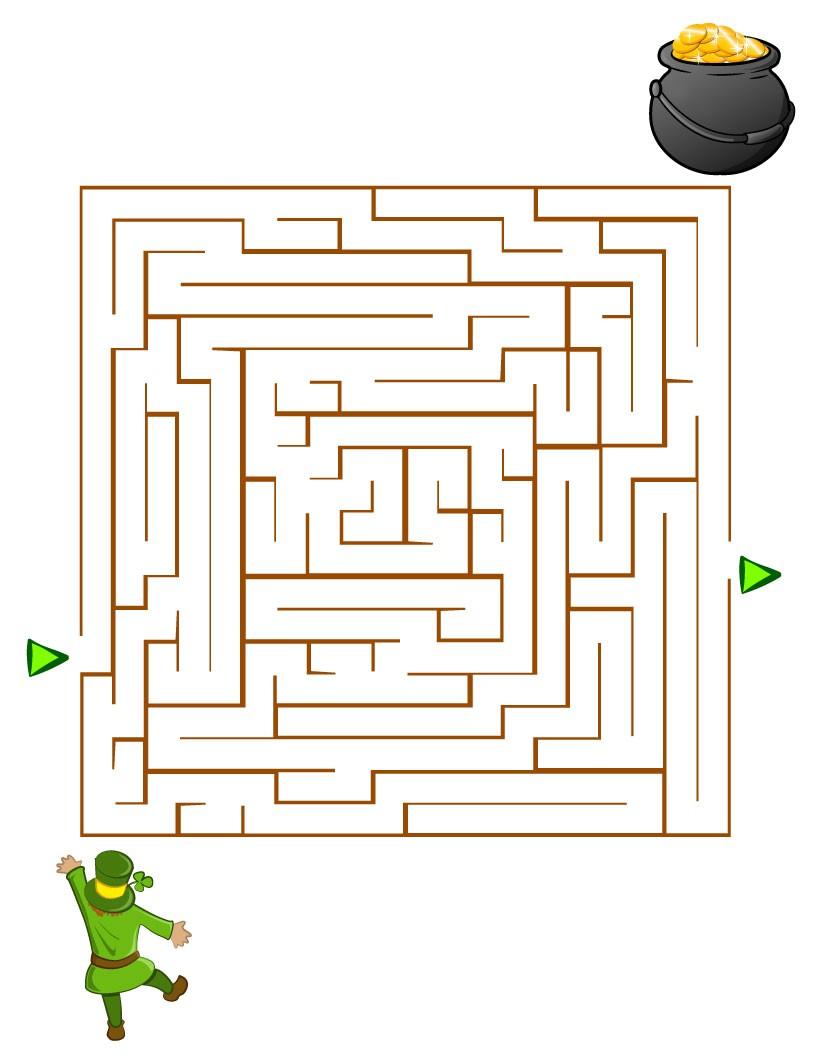 Labyrinthe : Le chaudron du Leprechaun