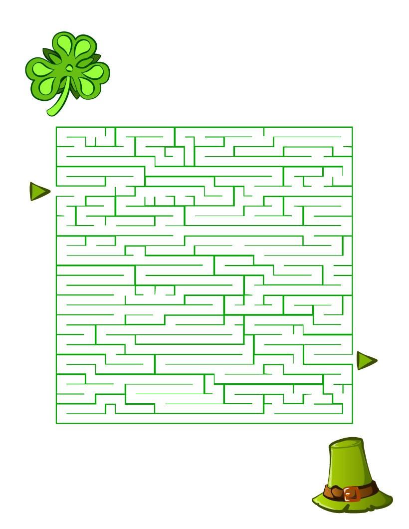 Labyrinthe de la Saint Patrick