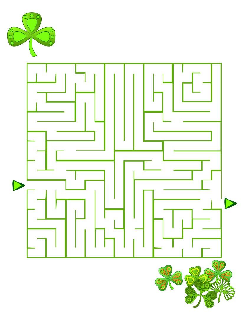 Le labyrinthe aux trèfles