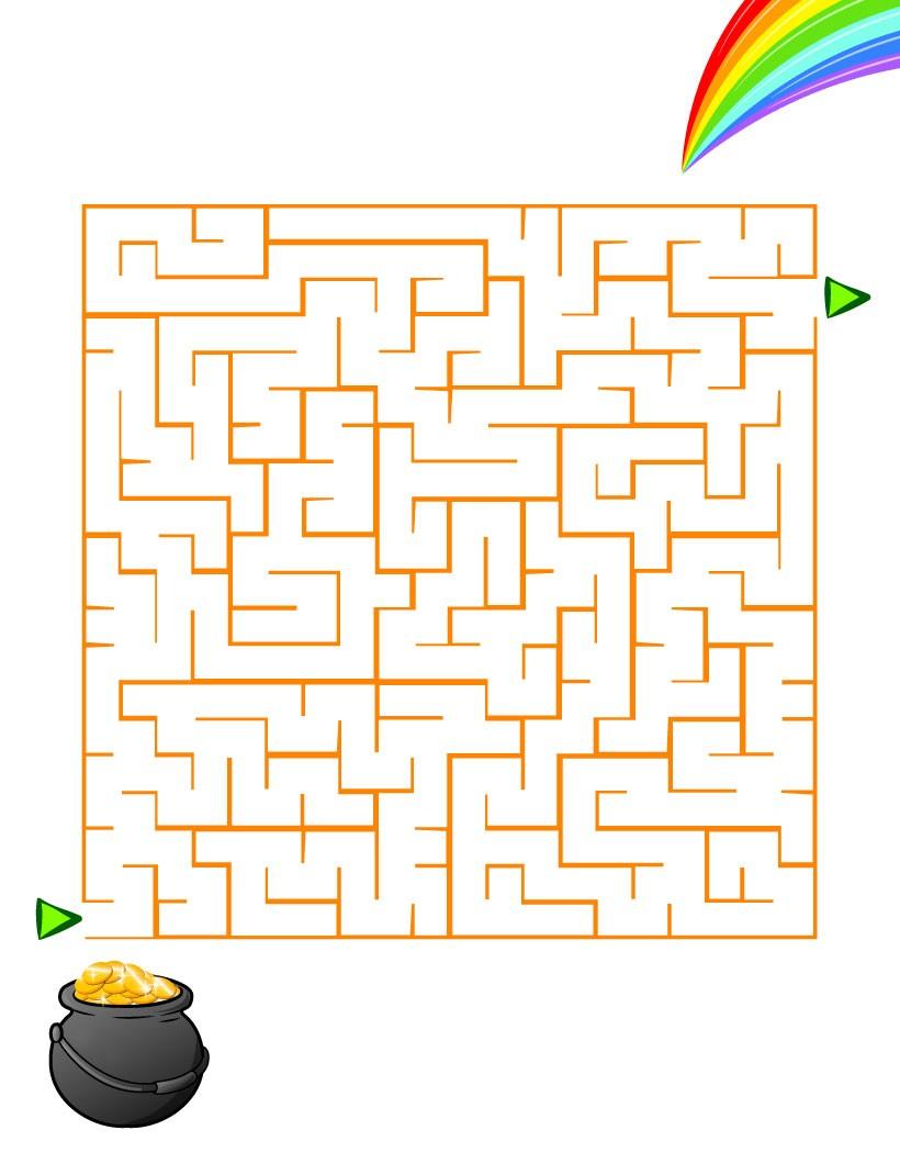 Labyrinthe : L'arc en ciel de la chance