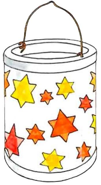 Lanterne à étoiles - Bricolage