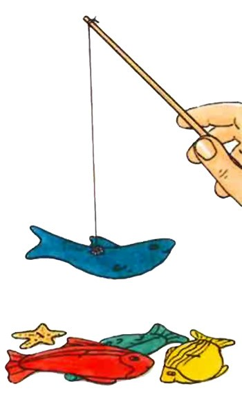 Jeu de Pêche à la ligne - Bricolage