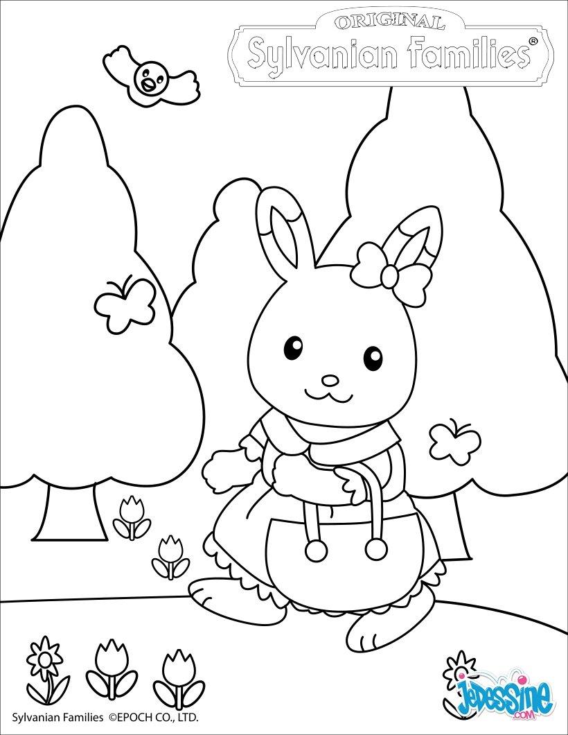 シルバニアファミリー 無料塗り絵 (ぬりえ) テンプレート集 Naver まとめ