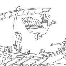 Personnage mythologique : Coloriage d'Ulysse
