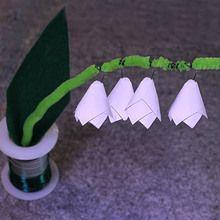 Le muguet en origami