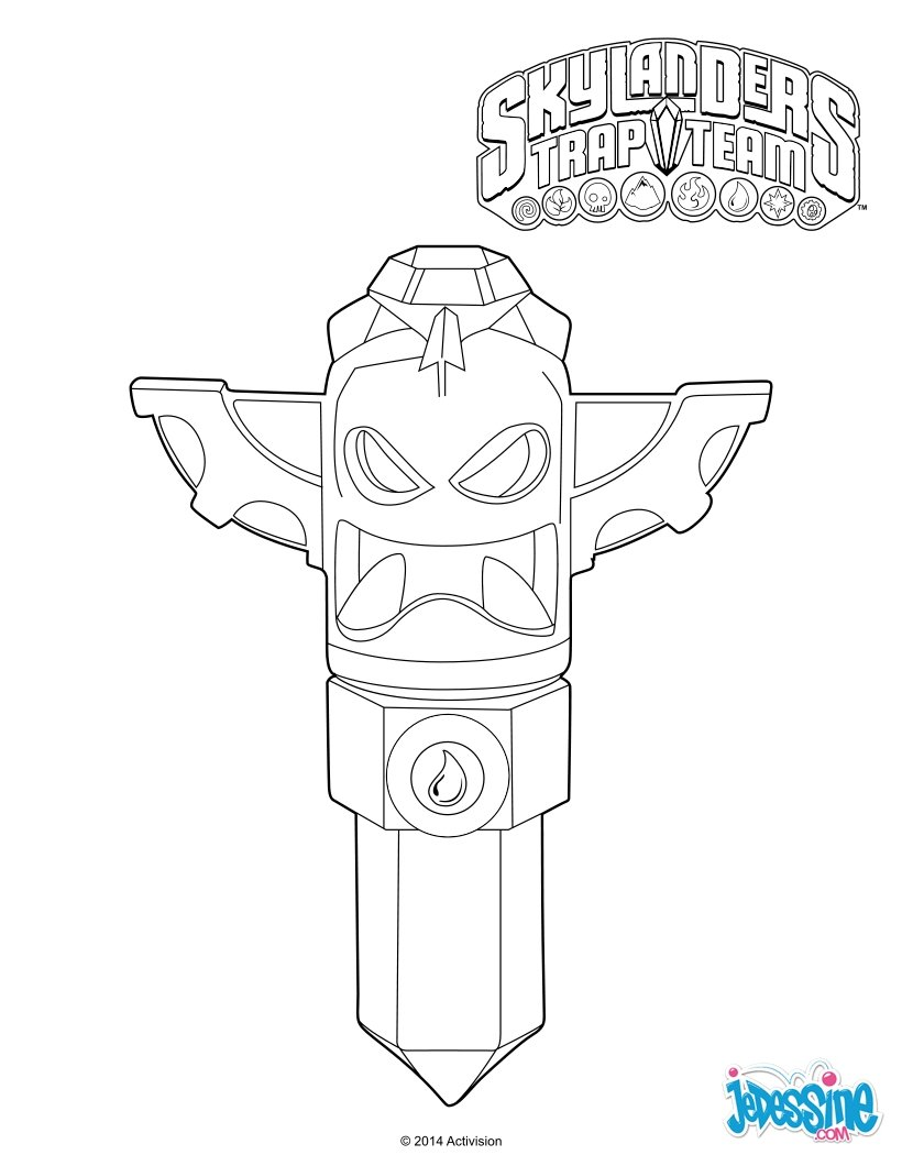 trapping coloring pages - photo#3