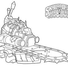 Coloriage Skylanders : Shrednaught