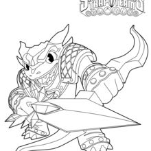 Coloriage Skylanders : Snap Shot