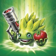 Illustration Foodfight Skylanders