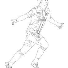 Coloriage : Zlatan Ibrahimović