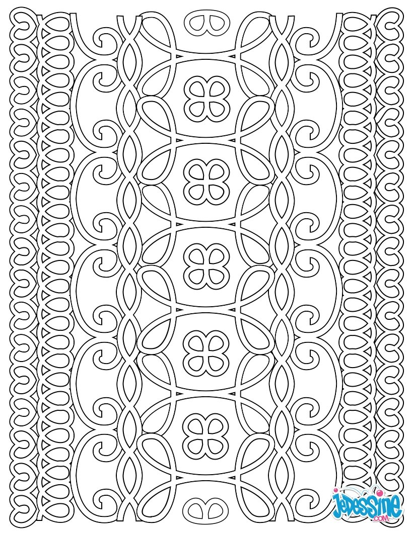 Coloriages coloriage anti stress imprimer - Anti coloriage ...