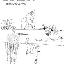 Coloriage : Tarzan et Trek