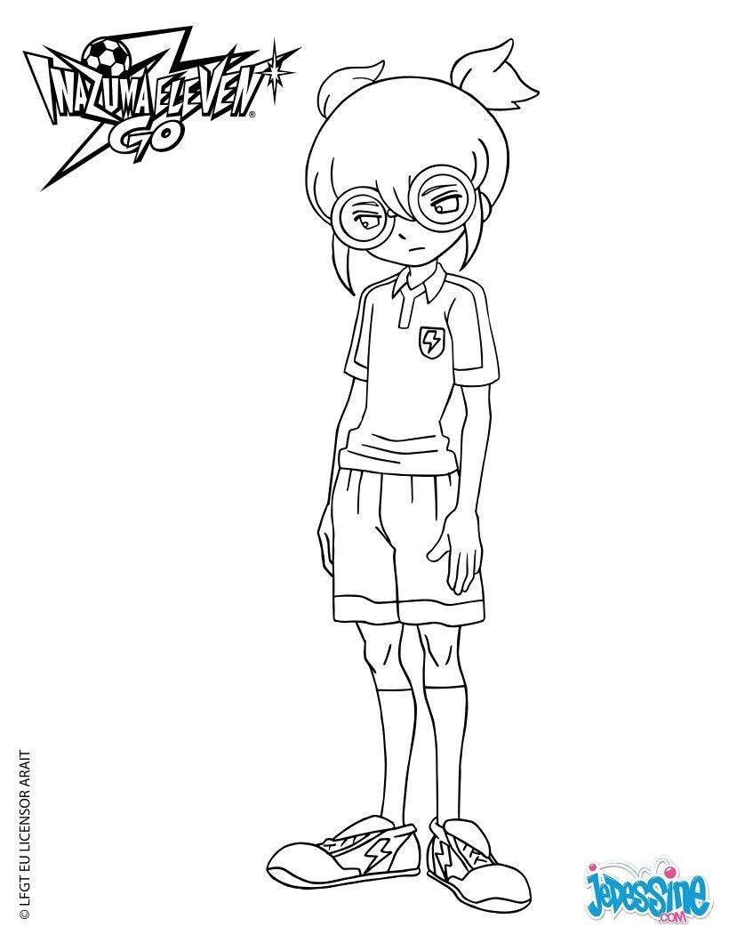 Coloriages eugene peabody - Dessin anime de inazuma eleven ...