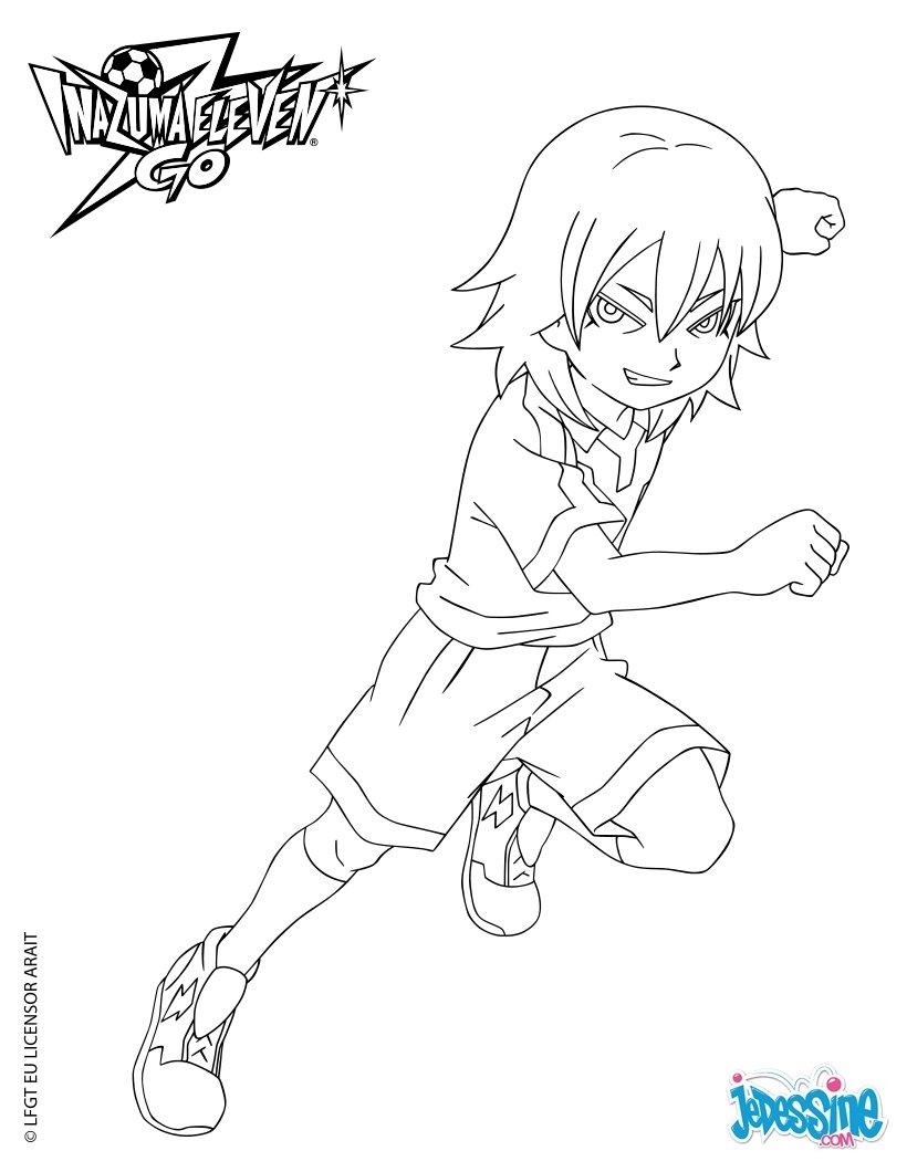 Coloriages aitor sur le terrain - Dessin anime de inazuma eleven ...