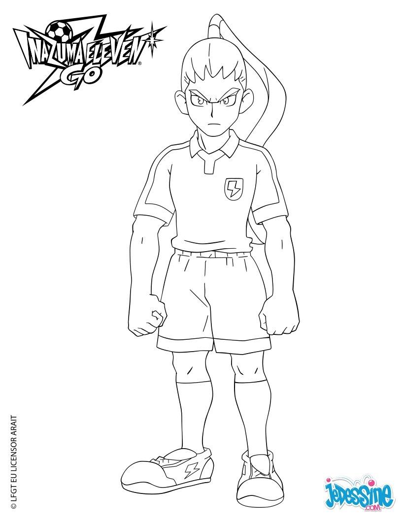 Coloriages nishiki ryoma - Dessin anime de inazuma eleven ...