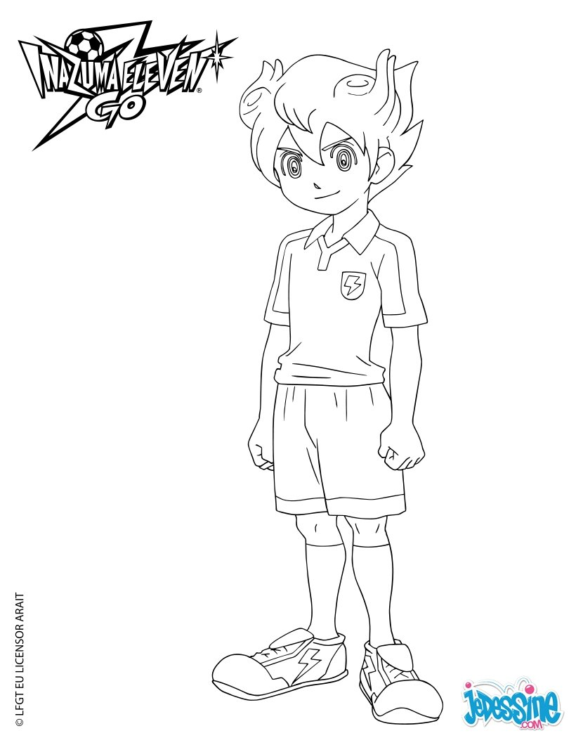 Coloriages arion sherwind - Coloriage inazuma eleven ...