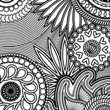 Coloriage anti-stress