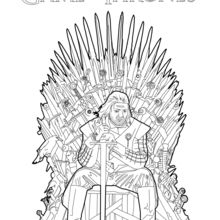 Game Of Thrones : Ned Stark sur le Trône de Fer