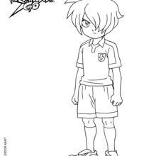 Coloriages michael ballzack - Dessin anime de inazuma eleven ...