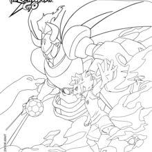 Inazuma eleven go lancelot l 39 esprit guerrier - Dessin anime de inazuma eleven ...
