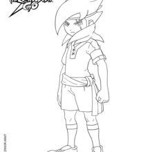 Coloriages davy johnes - Dessin anime de inazuma eleven ...