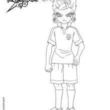 Coloriages victor de face - Dessin anime de inazuma eleven ...