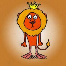 Les pattes palmées du lion
