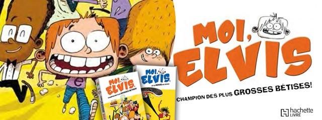 Coloriage MOI, ELVIS