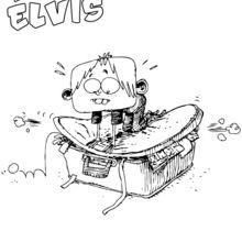 Elvis fait sa valise