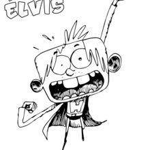 Elvis en super-héro