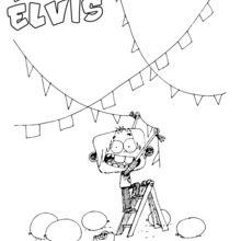 Elvis prépare la fête