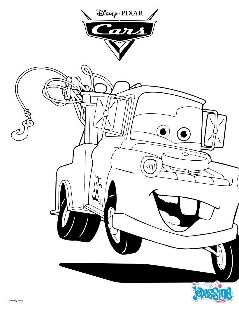 Coloriages cars martin la d panneuse - Cars 2 coloriage ...