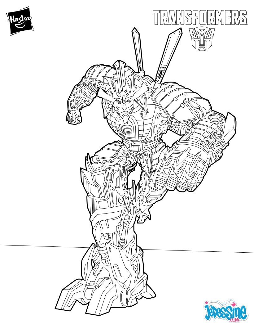 Coloriages drift - Coloriage transformers ...