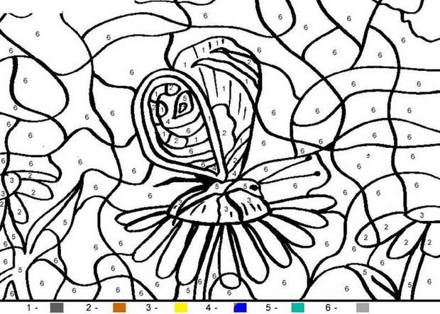 coloriage magique imprimer