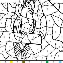Coloriage magique : Coloriage magique en ligne