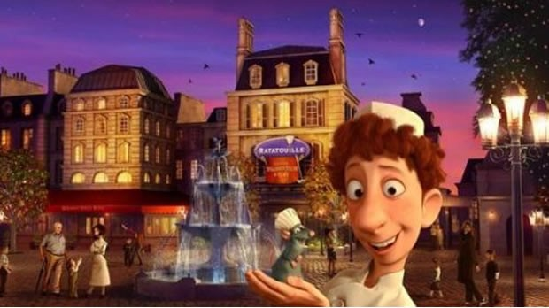 ratatouille et son univers nouveaut disneyland paris. Black Bedroom Furniture Sets. Home Design Ideas