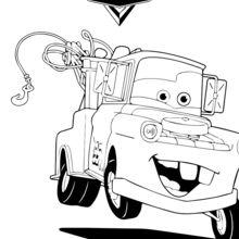 Cars - Martin la dépanneuse