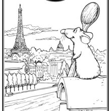 Coloriage Disney : Ratatouille - Rémy