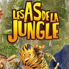 Coloriage Les As de la Jungle