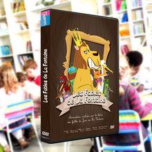 Un DVD des fables de La Fontaine pour mon école