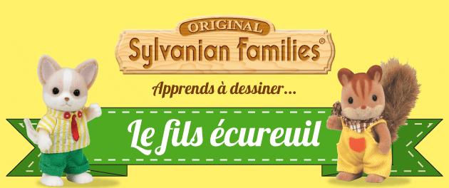 Dessiner les sylvanian families dessiner le fils de la - Ecureuil a dessiner ...