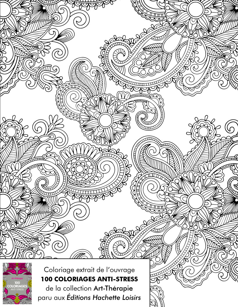 Coloriages coloriage antistress - Dessins anti stress ...