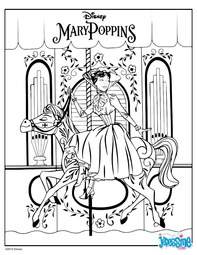 disney coloring pages mary poppins - photo#14