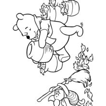 Coloriages Coloriage Winnie Fr Hellokids Com